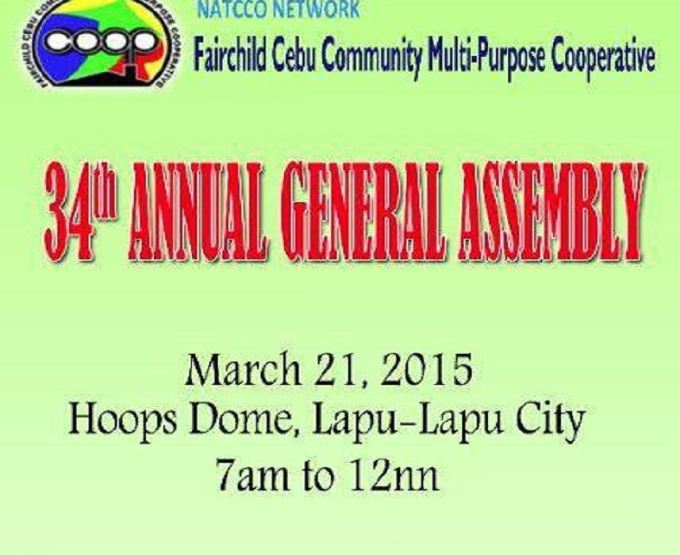 34th Annual General Assembly